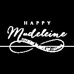 logo happy madeleine blanc